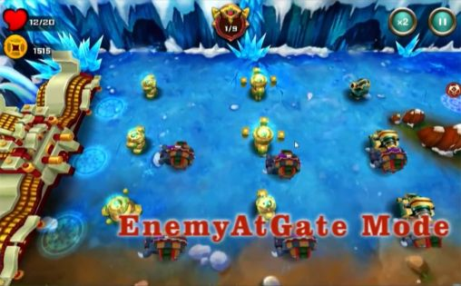 Tower defense Demon avengers TD in English