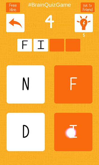 Brain quiz: Just 1 word! für Android