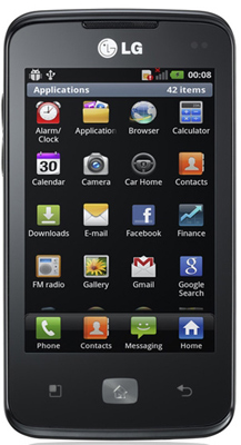 Download games for LG Optimus Hub for free