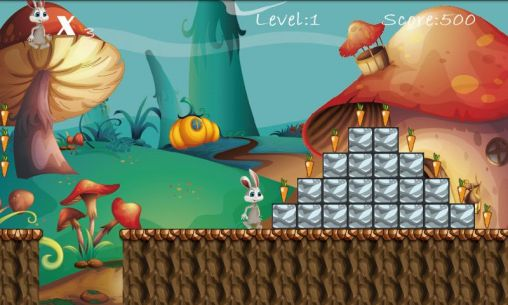 Bunny run by Roll games für Android