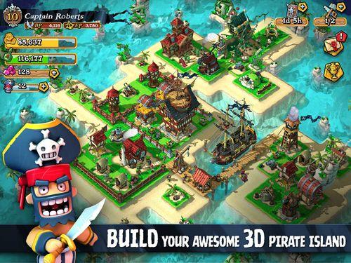 Plündernde Piraten auf Deutsch
