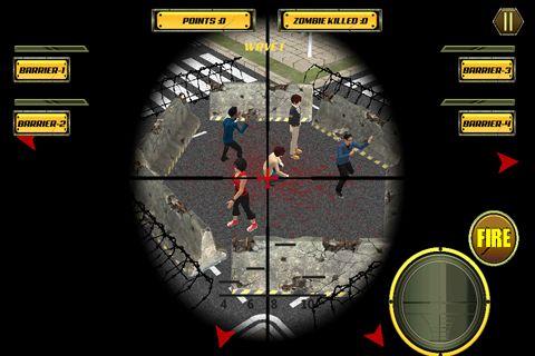 Sniper City: Zombies für iPhone