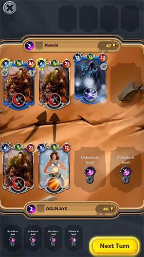 Shadow deck: Magic card battles TCG auf Deutsch