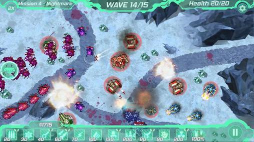 Tower defense zone für Android