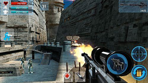 Screenshot Feindlicher Schlag 2 auf dem iPhone
