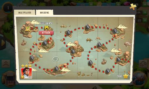 Juegos de piratas The pirates: Caribbean conflict en español