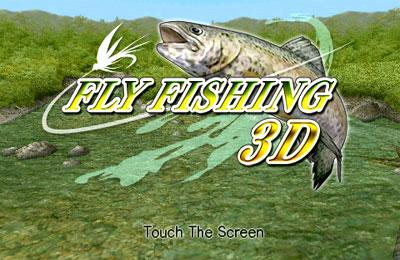 logo Pesca con una mosca 3D