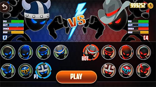 Stickman warriors: UFB fighting para Android