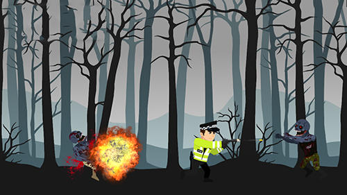 Time killer Forest zombie kill in English