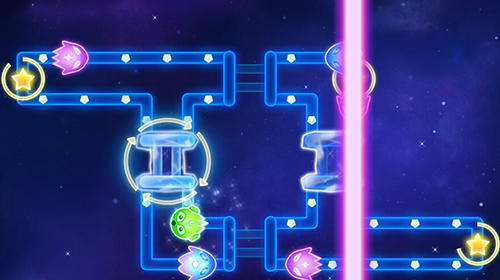 Glow monsters: Maze survival for Android