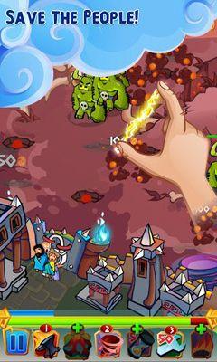 Juegos de arcade Zeus Defense para teléfono inteligente