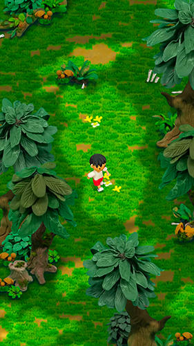 Action Clay island: Escape survival game für das Smartphone