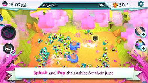 Arcade-Spiele Splash pop für das Smartphone