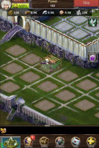 Онлайн игры: скачать Legend of empire: Daybreakна телефон