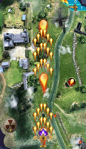 Flugspiele Raiden fighter: Striker 1945 air attack reloaded auf Deutsch