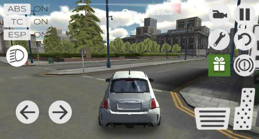 de courses Extreme car driving simulator: San Francisco pour smartphone