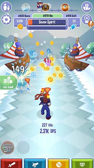 Triple tap attack Screenshot