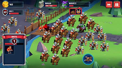 Online Strategiespiele Kingdom of sword war auf Deutsch