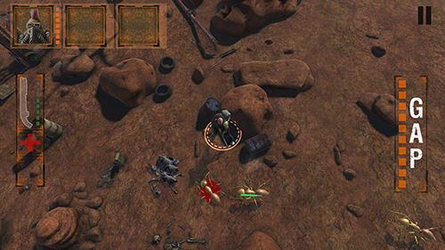 Actionspiele Outback defender für das Smartphone
