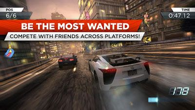 Laden Sie das Spiel Need for Speed: Most Wanted für Motorola XT532 herunter