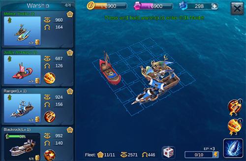Sail craft: Battleships online para Android
