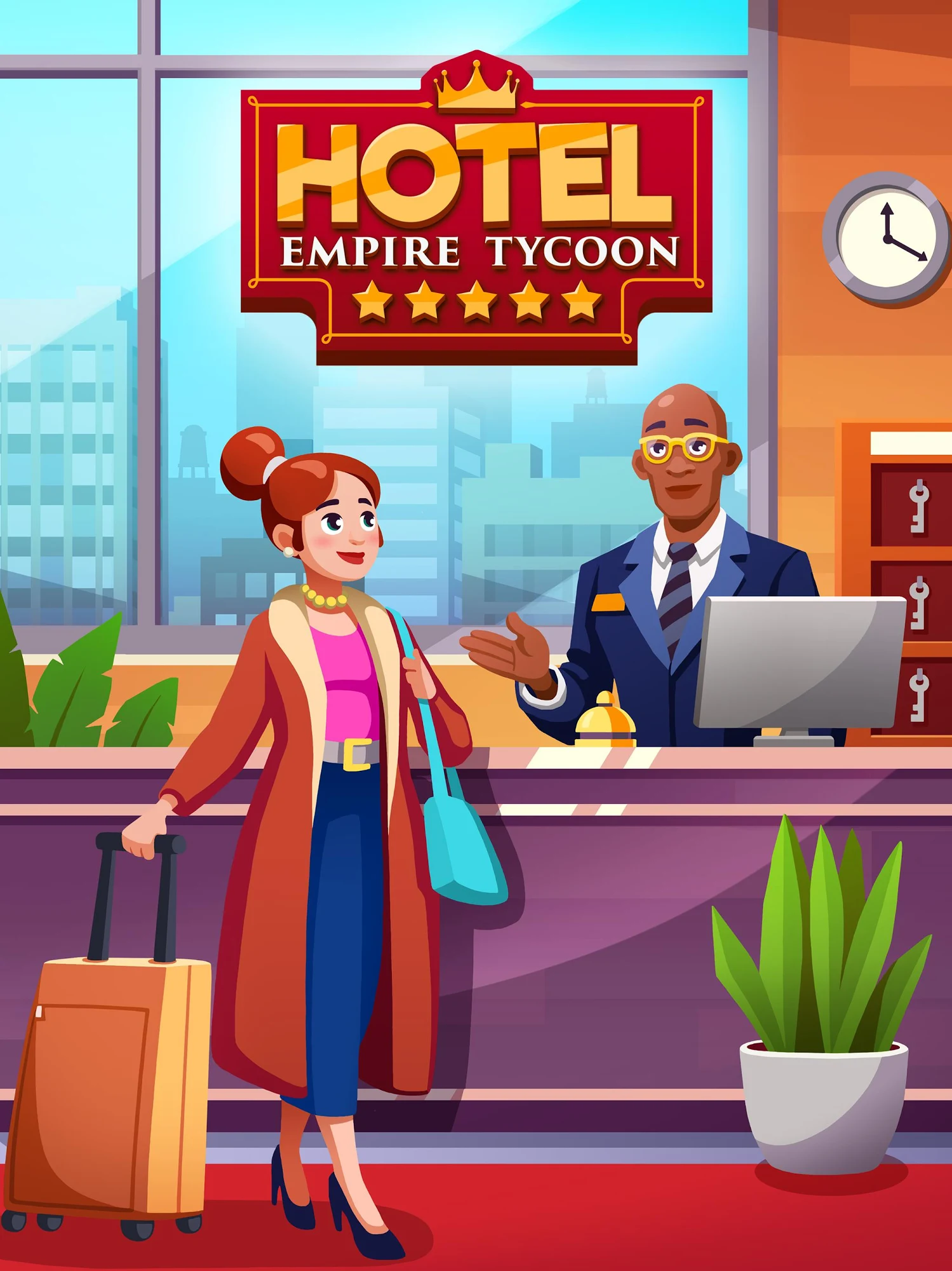 Hotel Empire Tycoon - Idle Game Manager Simulator スクリーンショット1