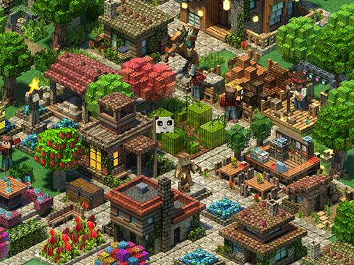 Strategiespiele Block town: Craft your city! für das Smartphone