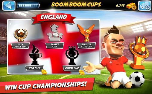 Boom boom soccer for Android