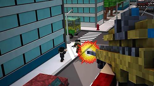 Blocky city sniper 3D für Android