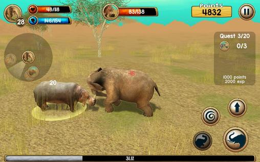 Wild elephant simulator 3D pour Android