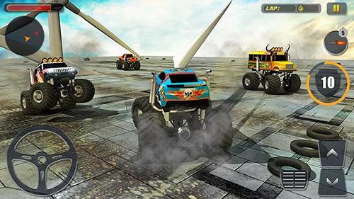 Rennspiele Monster truck derby 2016 für das Smartphone
