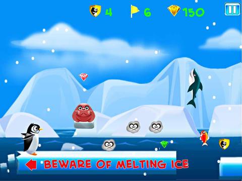 Arcade-Spiele: Lade Lauf Kelvin: Die Pinguinflucht auf dein Handy herunter