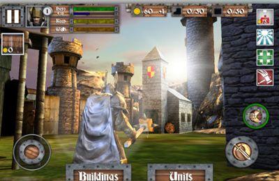 Screenshot Helden und Schlösser auf dem iPhone