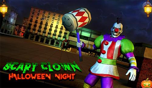 Scary clown: Halloween night icône