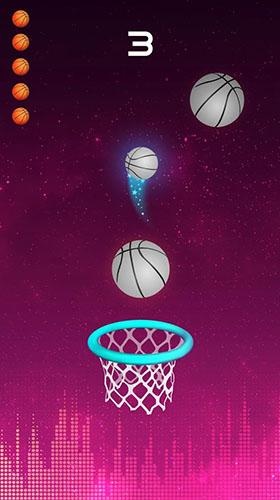 Basketball-Spiele Dunk and beat auf Deutsch