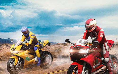 Rennspiele Bike rider mobile: Moto race and highway traffic für das Smartphone