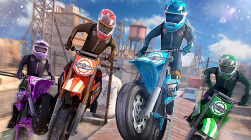 Free motor bike racing: Fast offroad driving game для Android