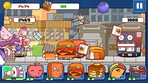 Arcade: Lade Pop Karts: Essensschlachten auf dein Handy herunter