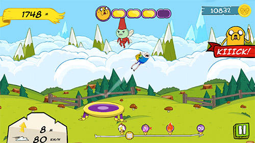 Adventure time: Crazy flight для Android