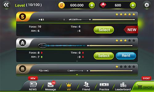 Sport Amazing pool pro für das Smartphone