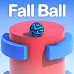 Fall ball: Addictive falling icon
