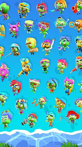 Arcade-Spiele Zombie beach party für das Smartphone