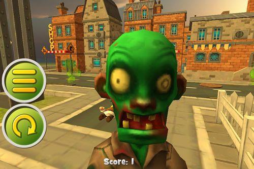 Captura de pantalla Ciudad de zombis: Tiro de francotirador en iPhone