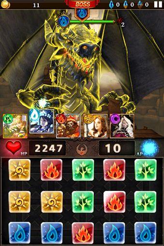 Screenshot Dungeon Gems auf dem iPhone