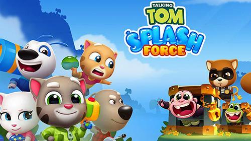Talking Tom splash force Screenshot
