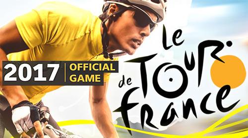 Tour de France: Cycling stars. Official game 2017 Symbol