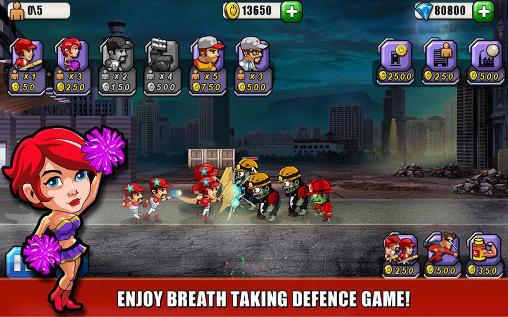 Arcade Baseball vs zombies returns für das Smartphone