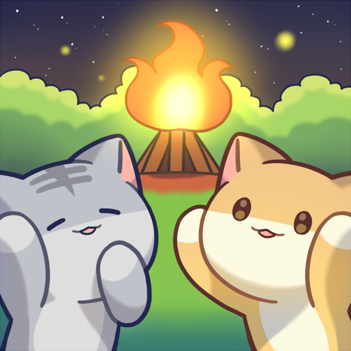 іконка Cat Forest - Healing Camp
