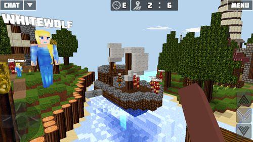 Screenshot Weltcraft auf dem iPhone