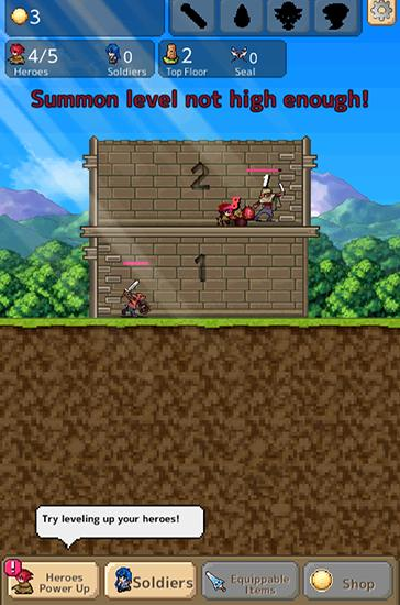 Tower of hero für Android